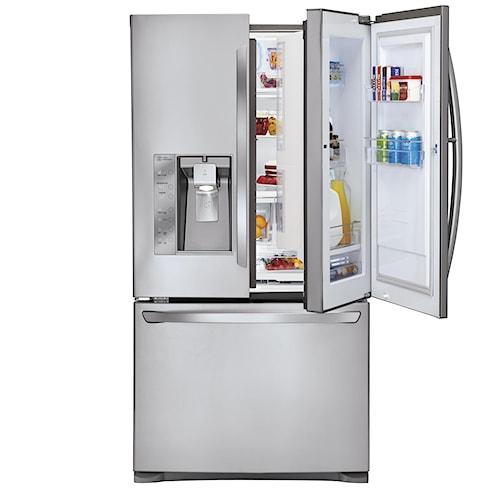 LG Appliances French Door Refrigerators 29 Cu. Ft. ENERGY STAR® Door-in-Door® French Door Refrigerator