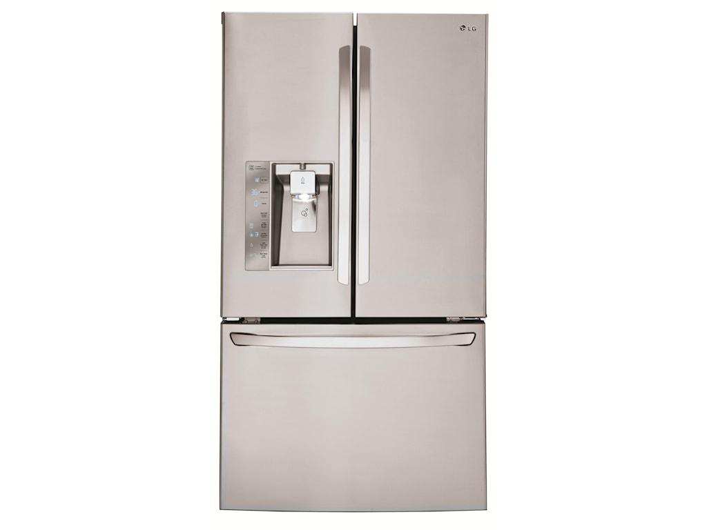 LG Appliances French Door Refrigerators30 Cu. Ft. 3 Door French Door Fridge