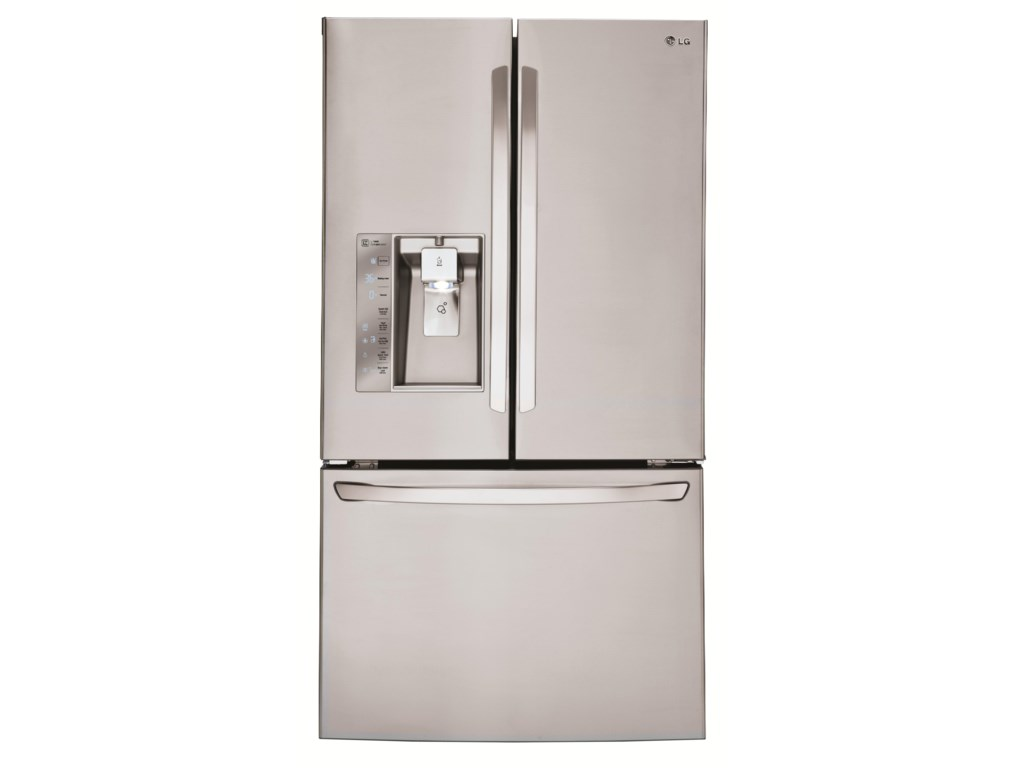 LG Appliances French Door Refrigerators30 Cu. Ft. 3 Door French Door Fridge