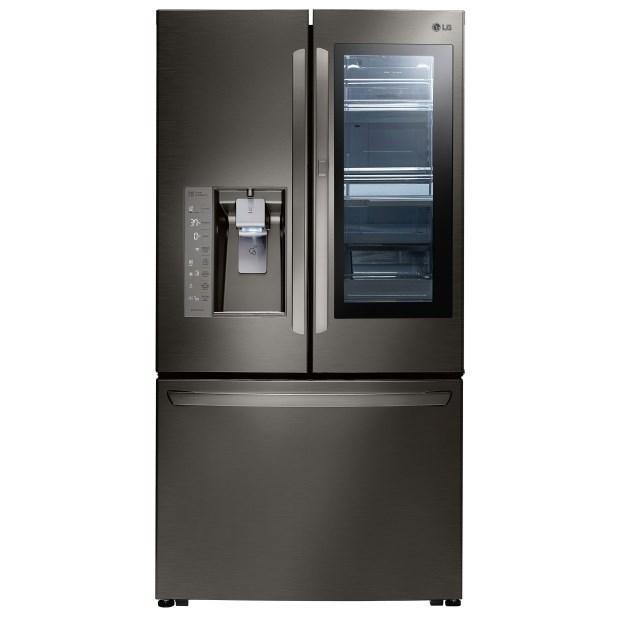 LG Appliances French Door Refrigerators 30 Cu. Ft. InstaView™ Door In