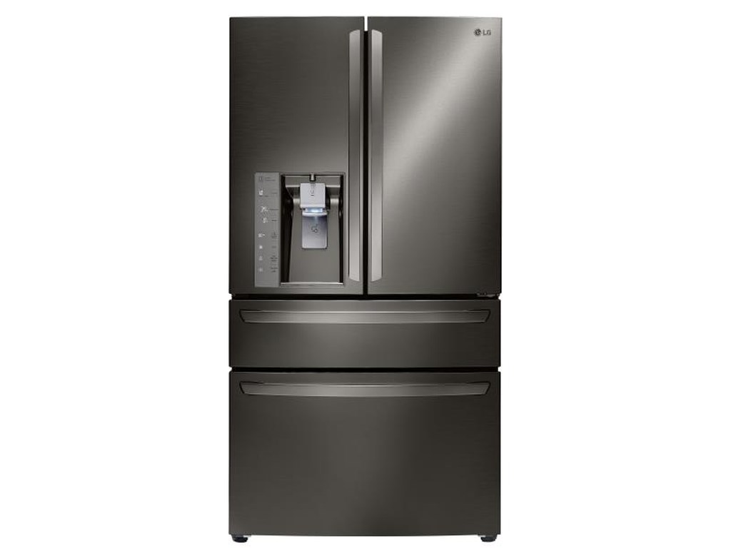 LG Appliances French Door Refrigerators23 Cu. Ft. Counter Depth French Door Refrige