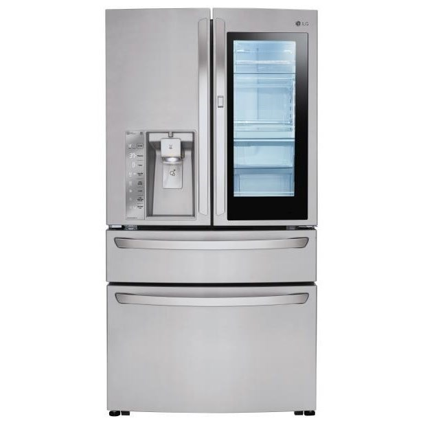 Counter Depth Fridge. LG Appliances French Door Refrigerators23 Cu.Ft. Door  In Door? Counter ...
