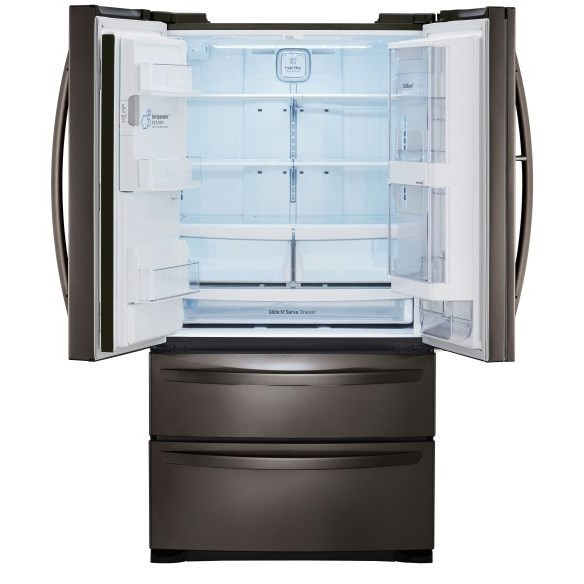 Lg Appliances Lmxs27676dblack Stainless Steel Series 27 Cu Ft 4