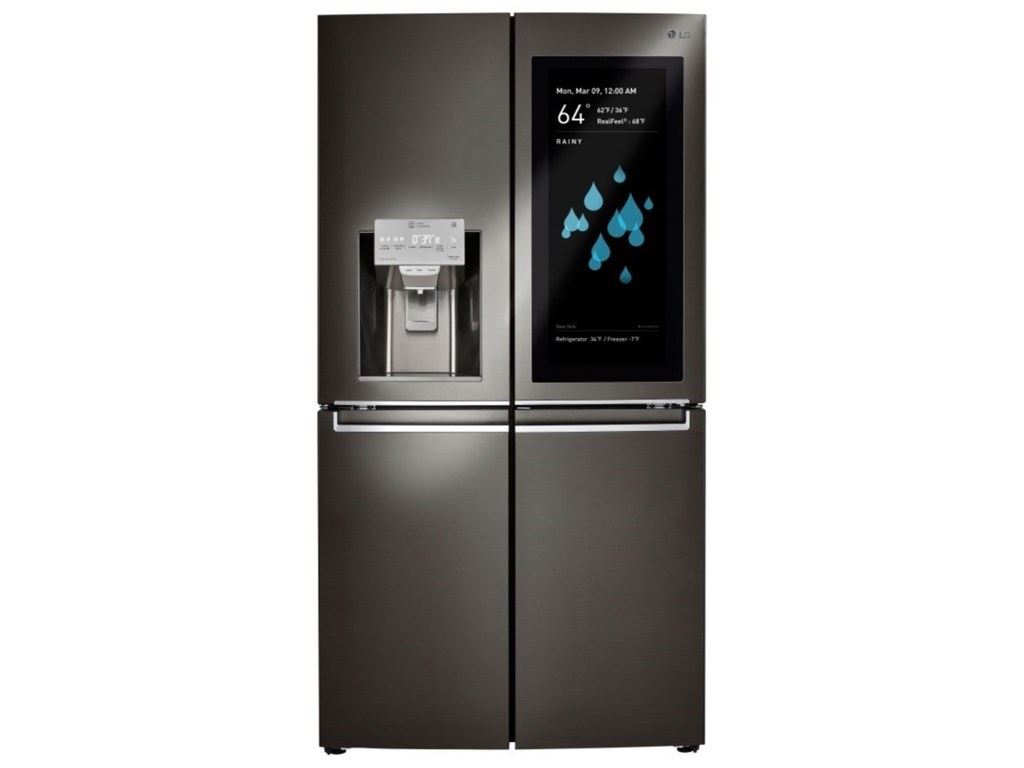 LG Appliances French Door RefrigeratorsLG InstaView ThinQ™ Refrigerator