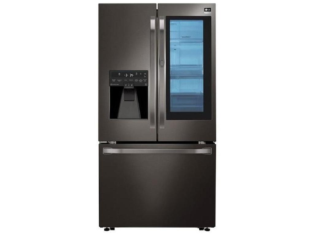 Lg Appliances 24 Cu Ft Instaview Door In Door Counter Depth