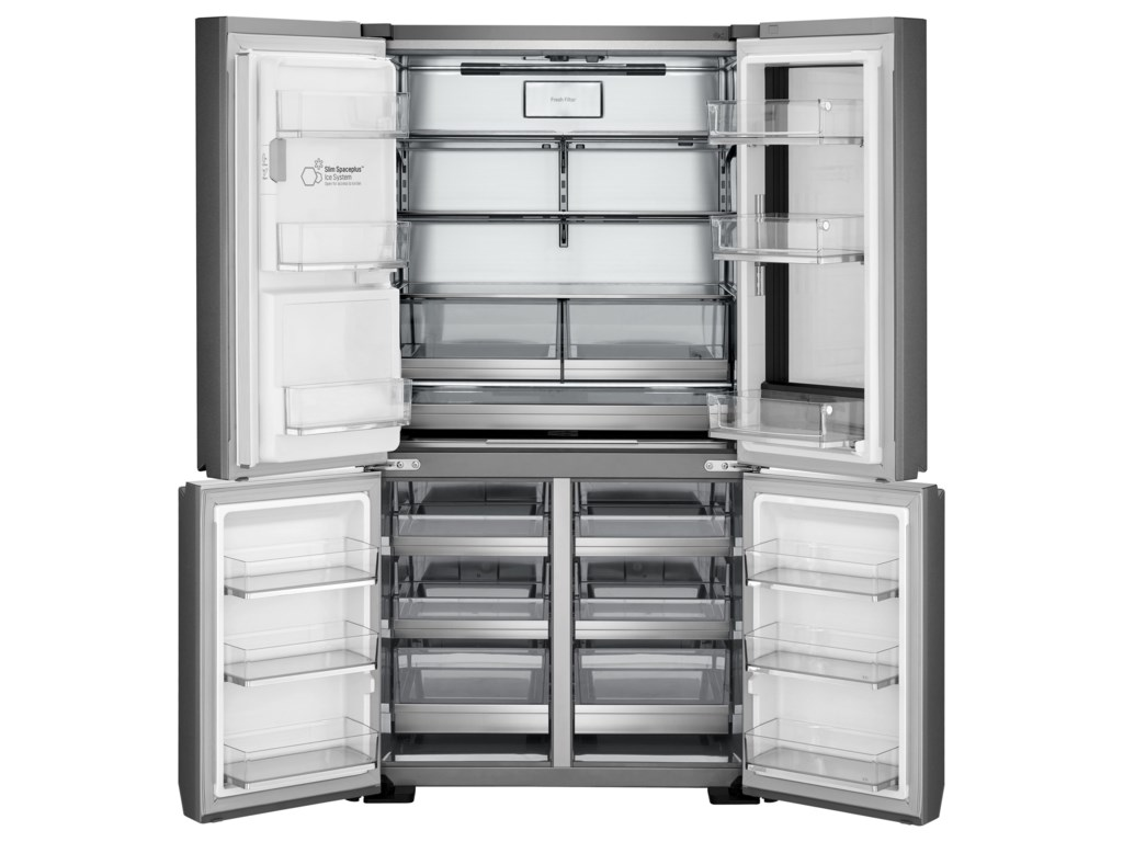 Lg appliances lupxs3186nlg signature 31 cu ft instaview door in ft instaview door in door refrigerator by lg appliances french door refrigerators collection rubansaba