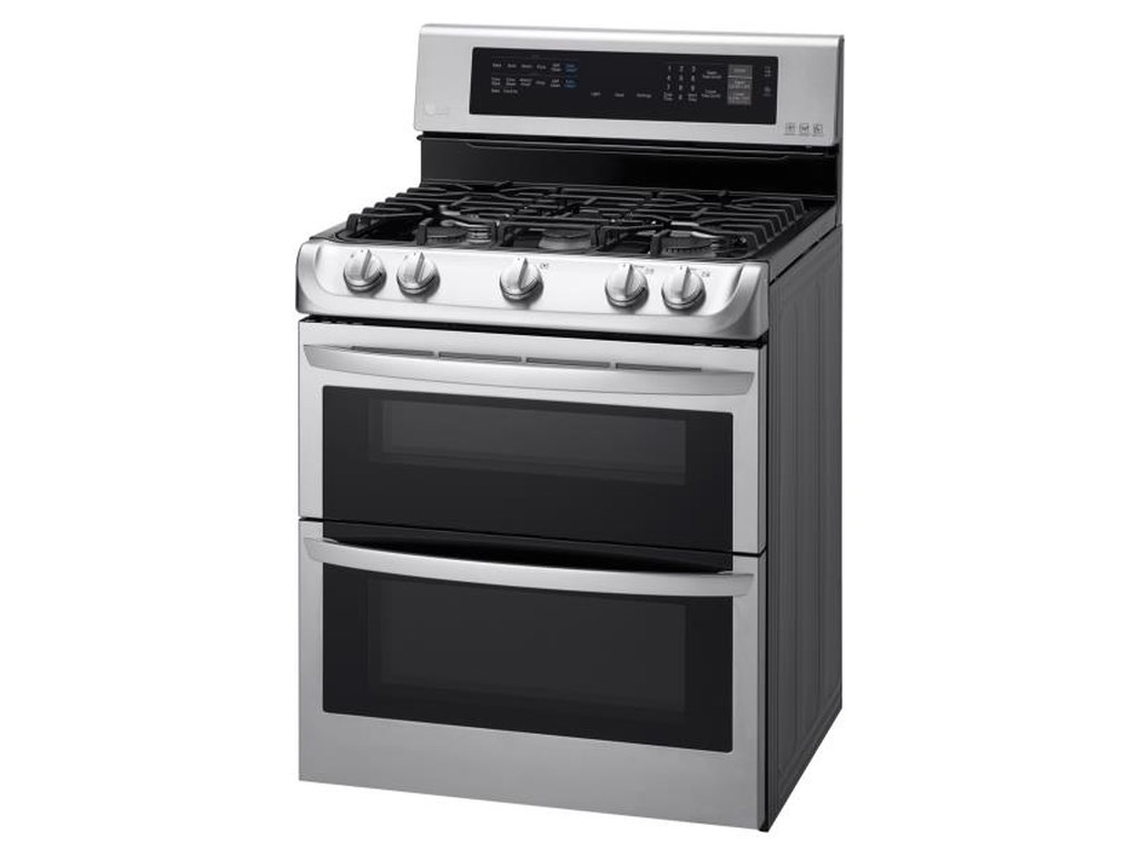 LG Appliances Gas Ranges6.9 Cu. Ft. Gas Double Oven Range
