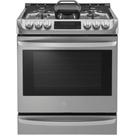 6.3 cu. ft. Gas Slide-in Range