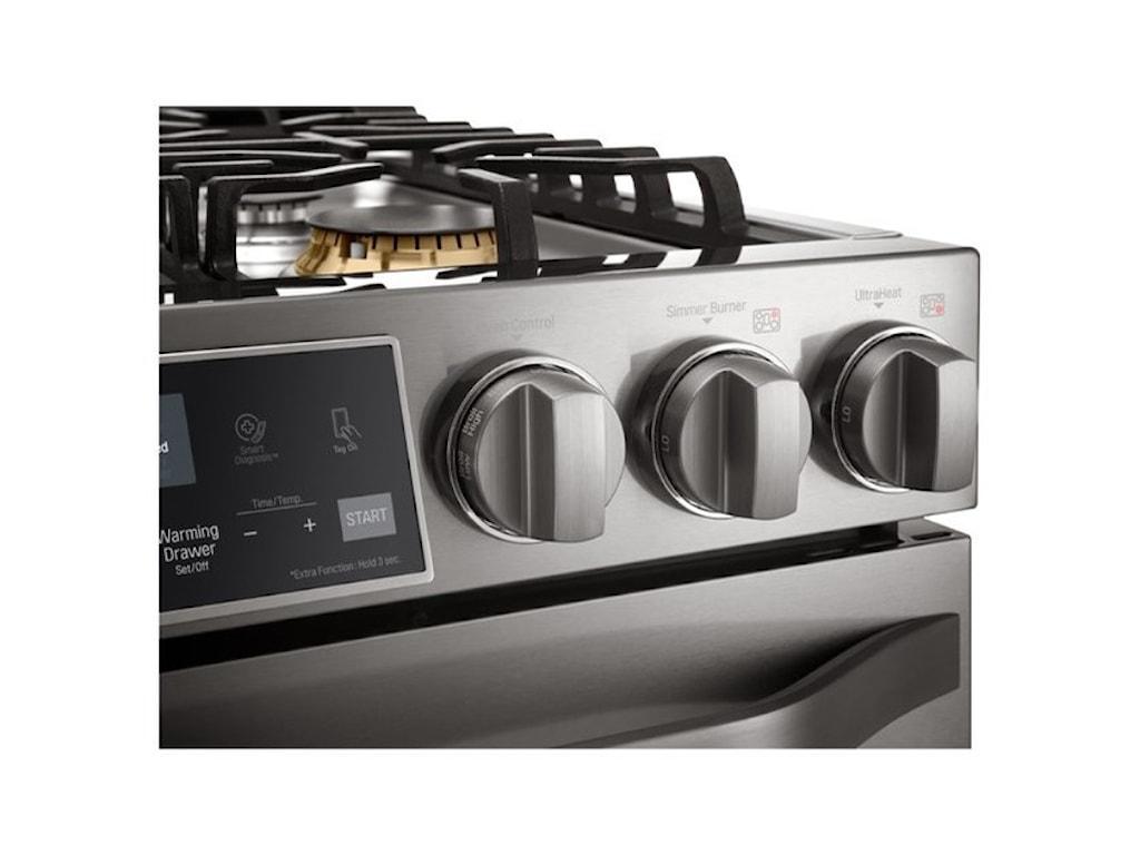 LG Appliances Gas RangesLG Studio - 6.3 Gas Slide-In-Range