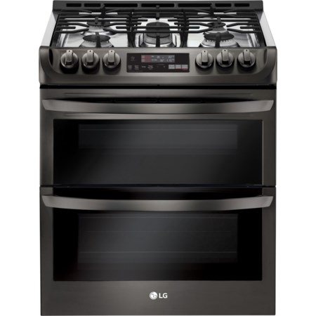 6.9 Cu.Ft. Wi-Fi Enabled Gas Double Oven