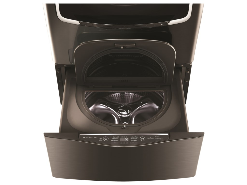 LG Appliances Laundry AccessoriesLG SIGNATURE: 1.0 cu. ft. SideKick™ Pedestal