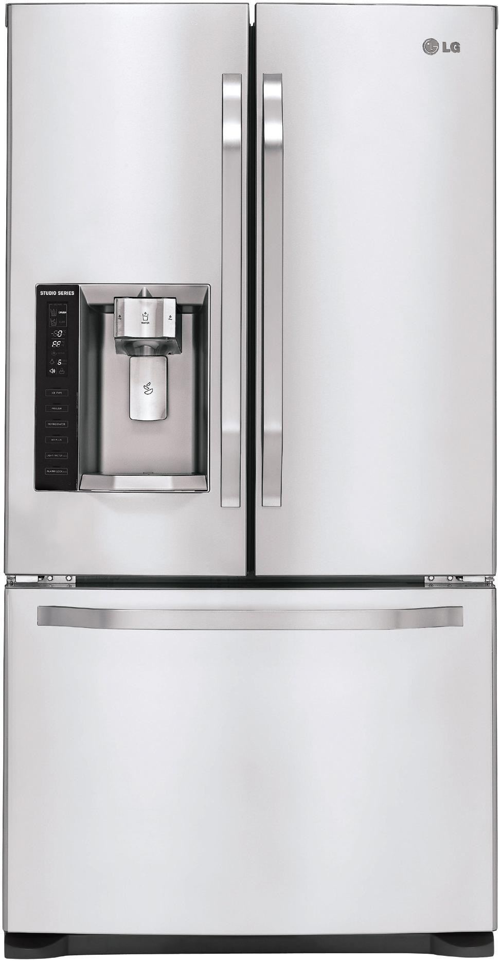 LG Appliances LG Studio Series20.5 Cu. Ft. French Door Refrigerator ...