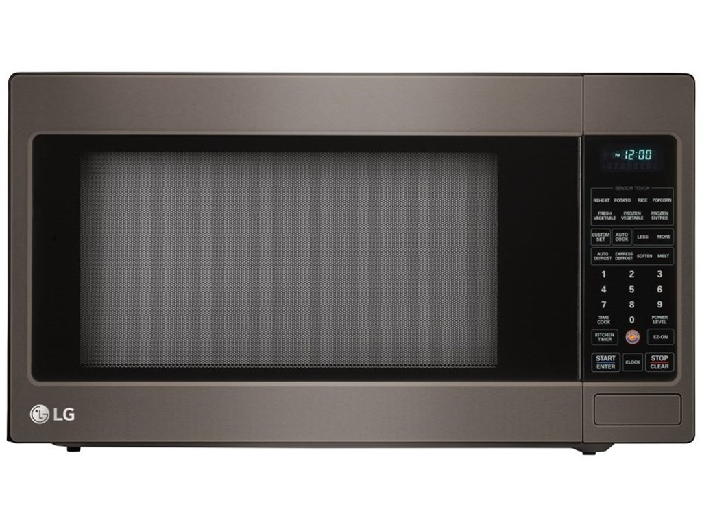 Lg Appliances 2 0 Cu Ft Countertop Microwave With Truecookplus Sheely S Furniture Appliance Microwaves Countertop