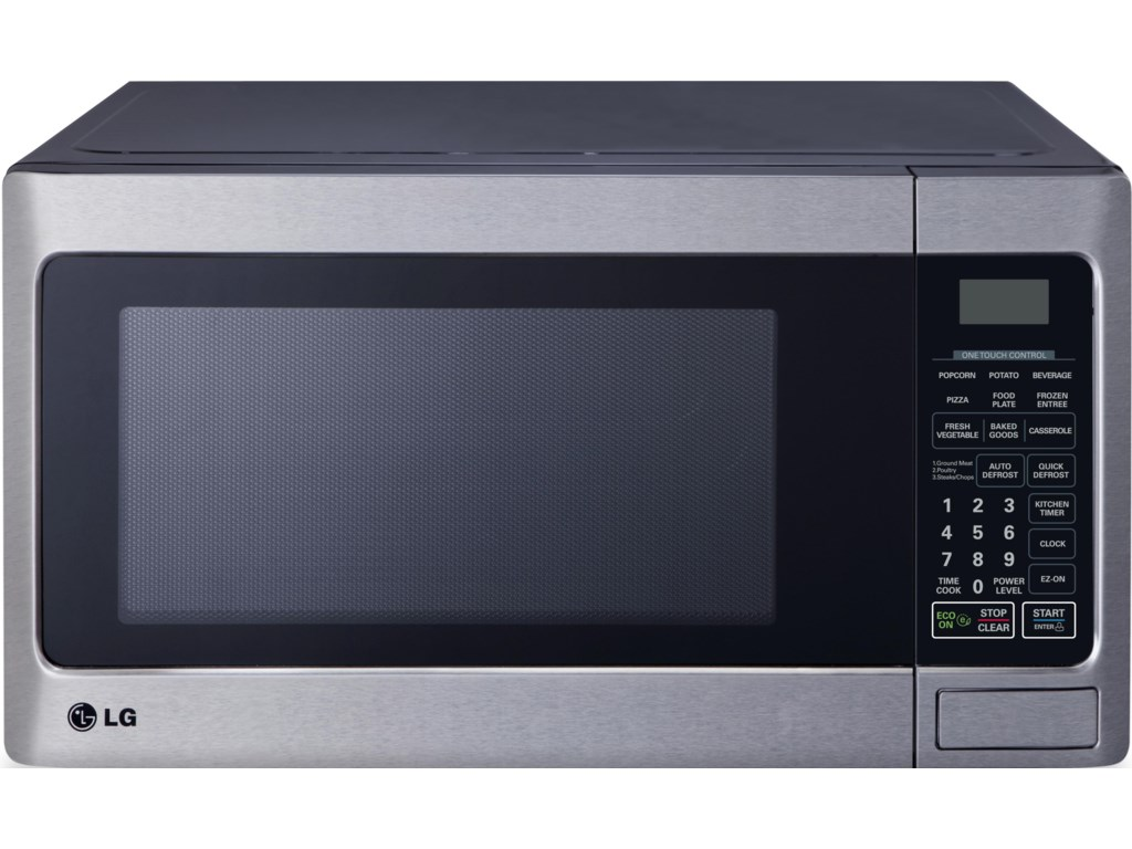 Microwaves 1 1 Cu  Ft  Countertop Microwave with Energy Savings Feature by  LG Appliances at Furniture and ApplianceMart