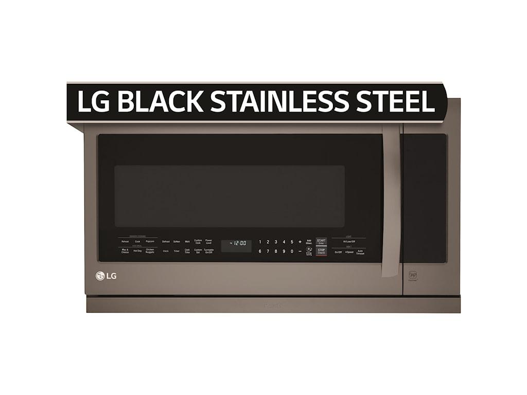 LG Appliances Microwaves- LG2.2 Cu. Ft. Over the Range Microwave