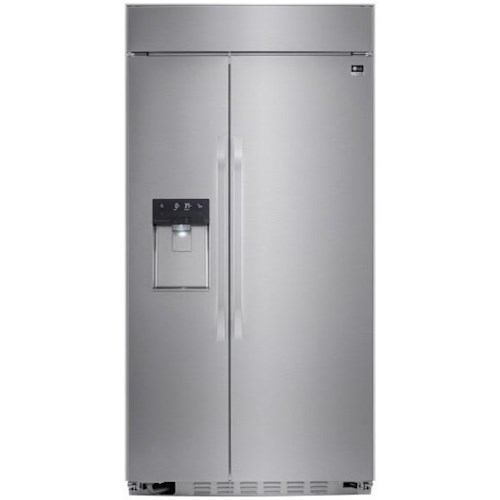 Lg Liances Side By Refrigerators Ultra Large Capacity 26 5 Cu Ft