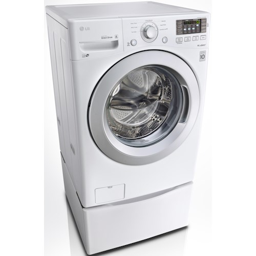 Lg Appliances Energy Star 174 4 3 Cu Ft Front Load Washer