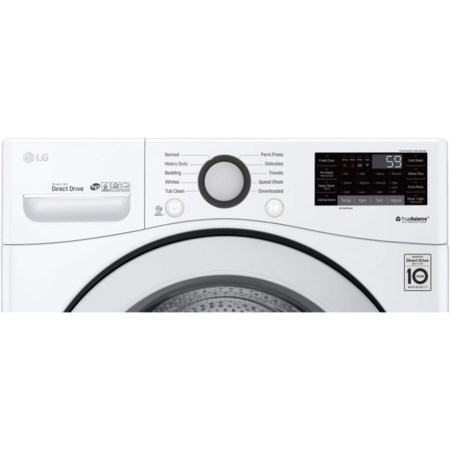 4.5 cu. ft. Smart Front Load Washer