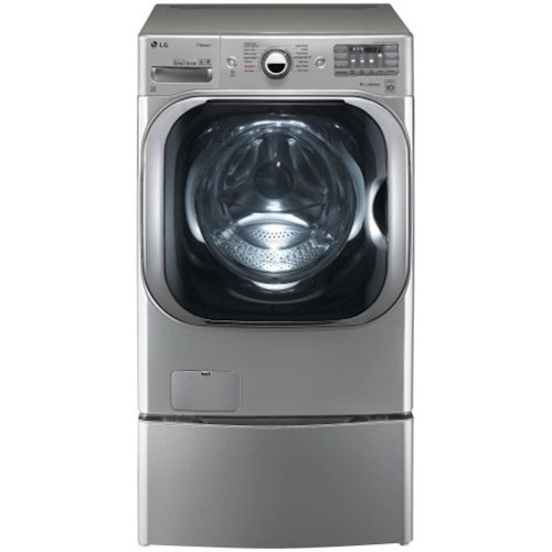 LG Appliances Washers 5.2 cu. ft. Mega Capacity TurboWash® Washer with Steam Technology