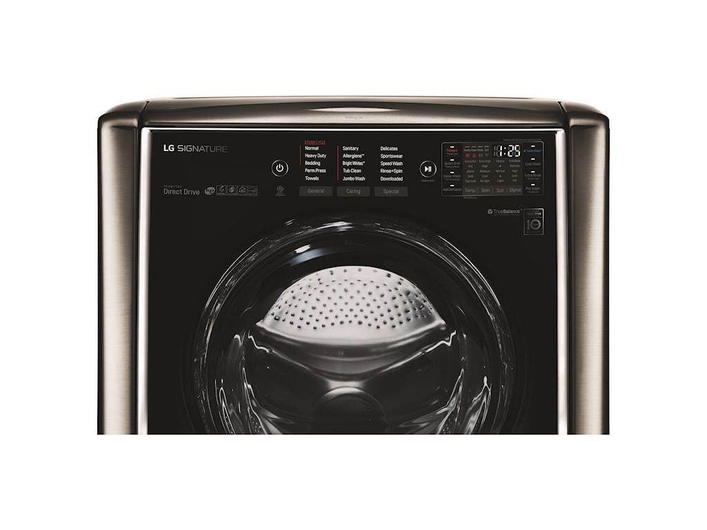 LG Appliances WashersLG SIGNATURE 5.8 Cu.Ft. Mega Capacity Washer