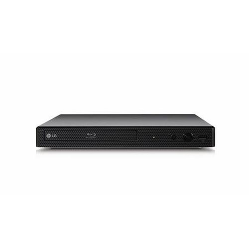 LG Electronics DVD and Blu-Ray Players 3D-Capable Blu-Ray Disc™ Player with Streaming Services and Built-In Wi-Fi®