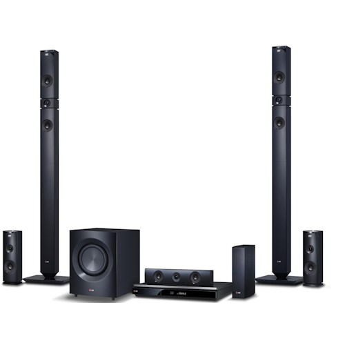 LG Electronics Home Theater 9.1 Channel Home Theater System with 3D Blu-Ray Player and Black Tallboy Speakers