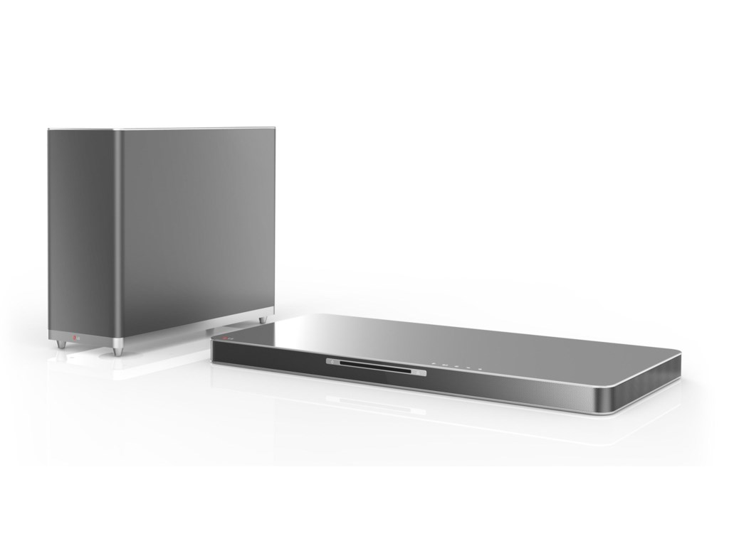 LG Electronics LG Home Theater Systems 2014LAB540W 320W Sound Plate with Subwoofer