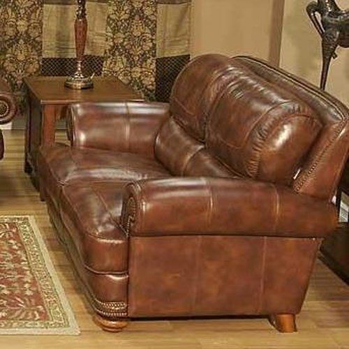 Lg Interiors Cowboy Traditional Warm Brown Leather