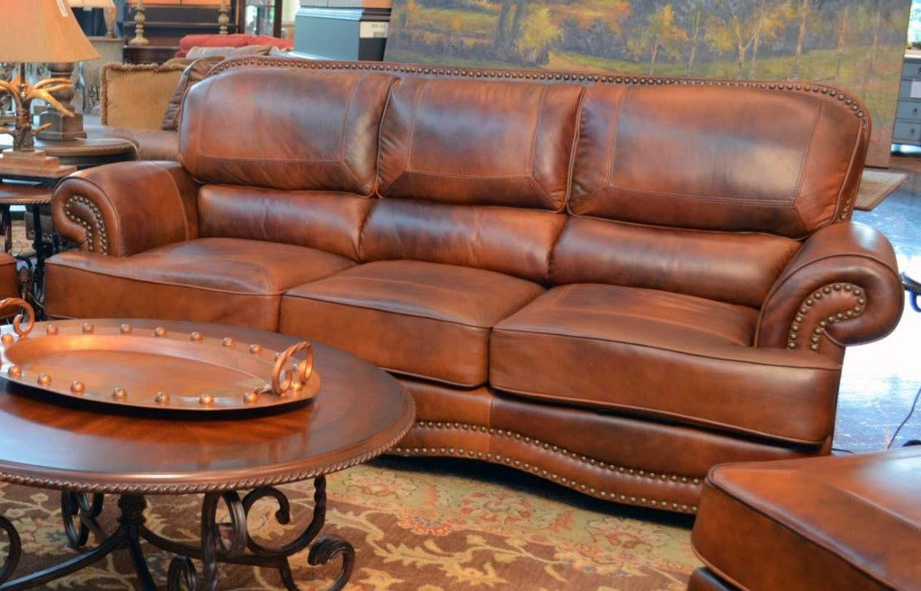 Western Leather Sofas Amazing Western Leather Sofa Cattle
