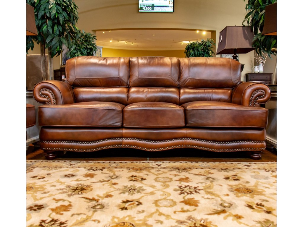 LG Interiors Cowboy D6266-01,04234 Cowboy Leather Sofa | Great ...