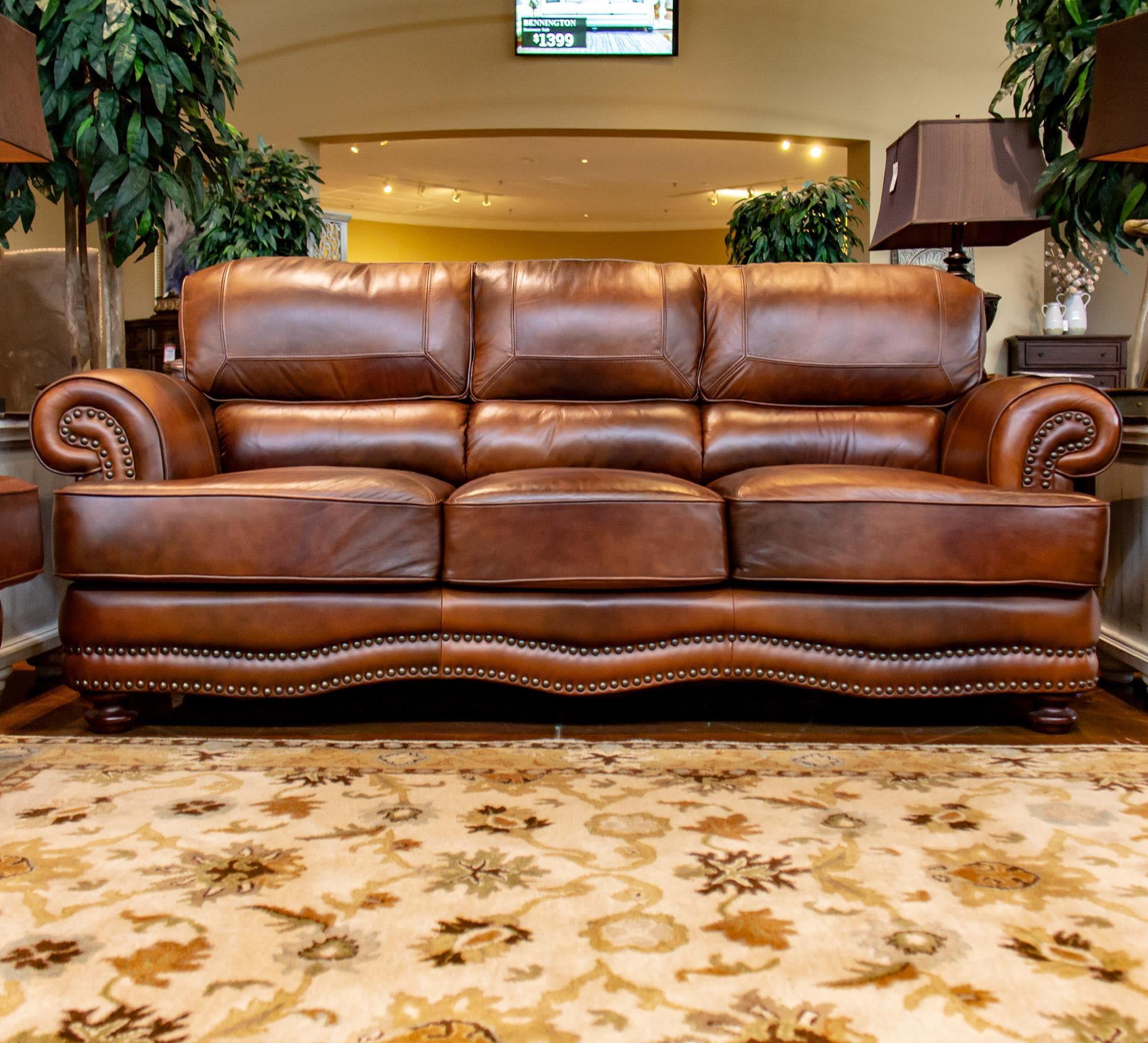 LG Interiors Cowboy Cowboy Leather Sofa