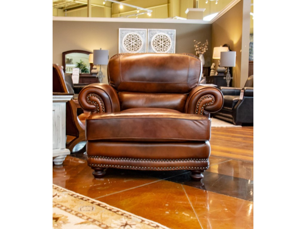 LG Interiors Cowboy D6266-06,04234 Cowboy Leather Chair | Great ...