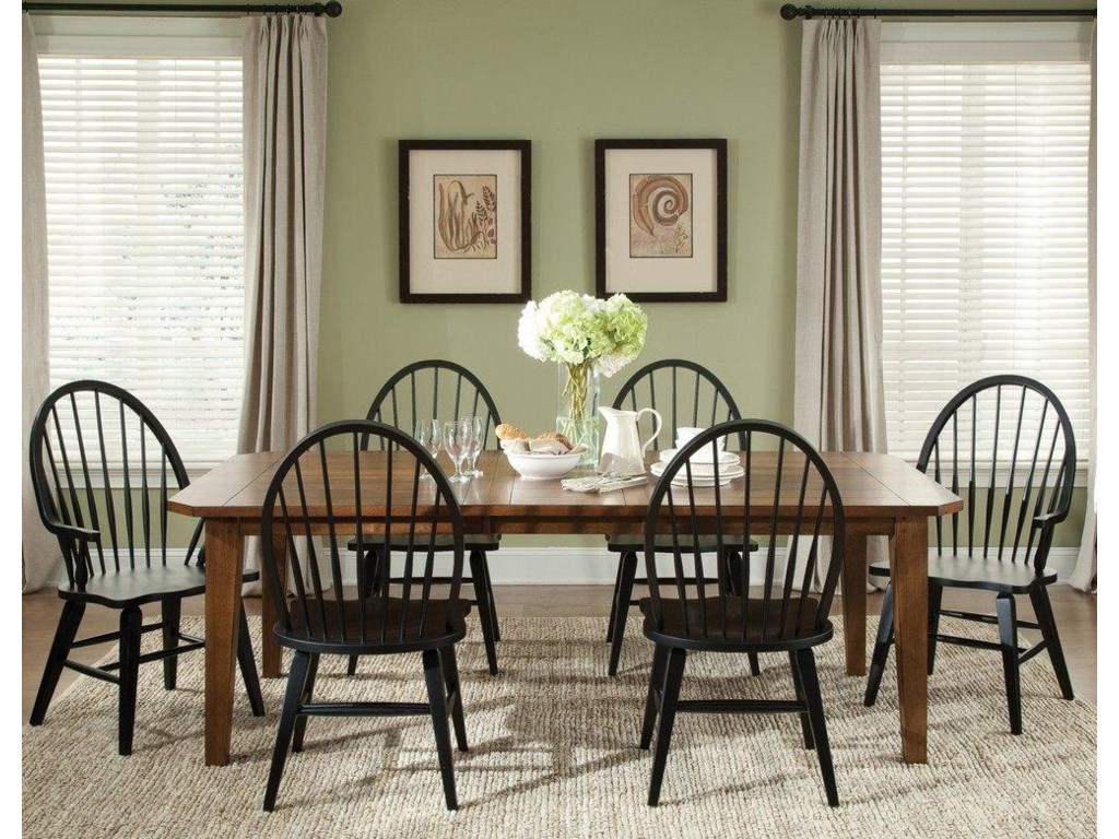 Liberty Furniture Bunker Hill7PC Dining Table & Chair Set