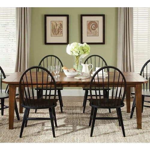 Liberty Furniture Bunker Hill 5PC Dining Table & Chair Set