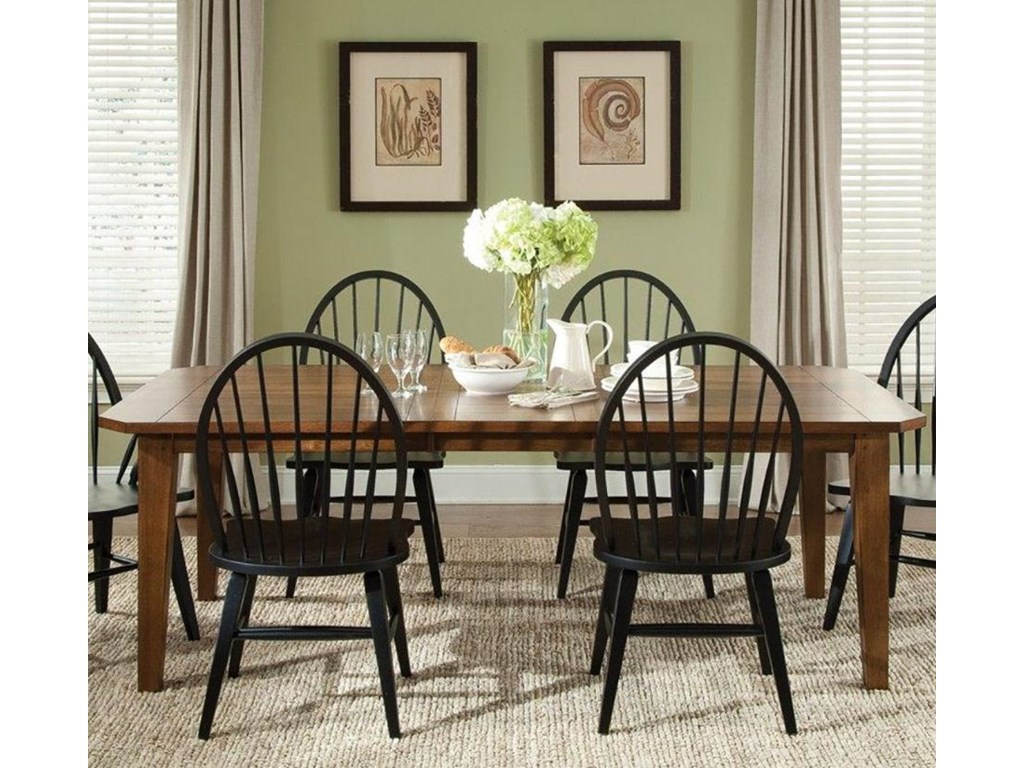 Liberty Furniture Bunker Hill5PC Dining Table & Chair Set