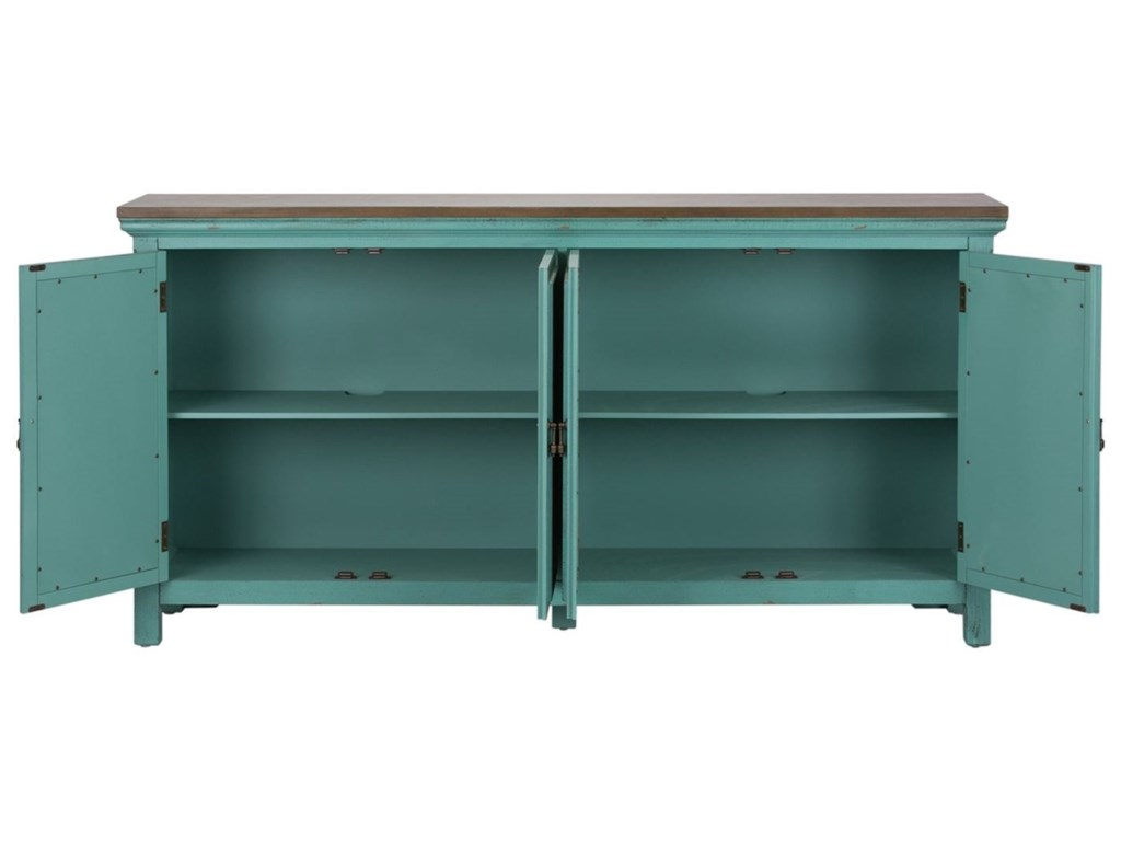 Sarah Randolph Designs Kensington4 Door Accent Chest