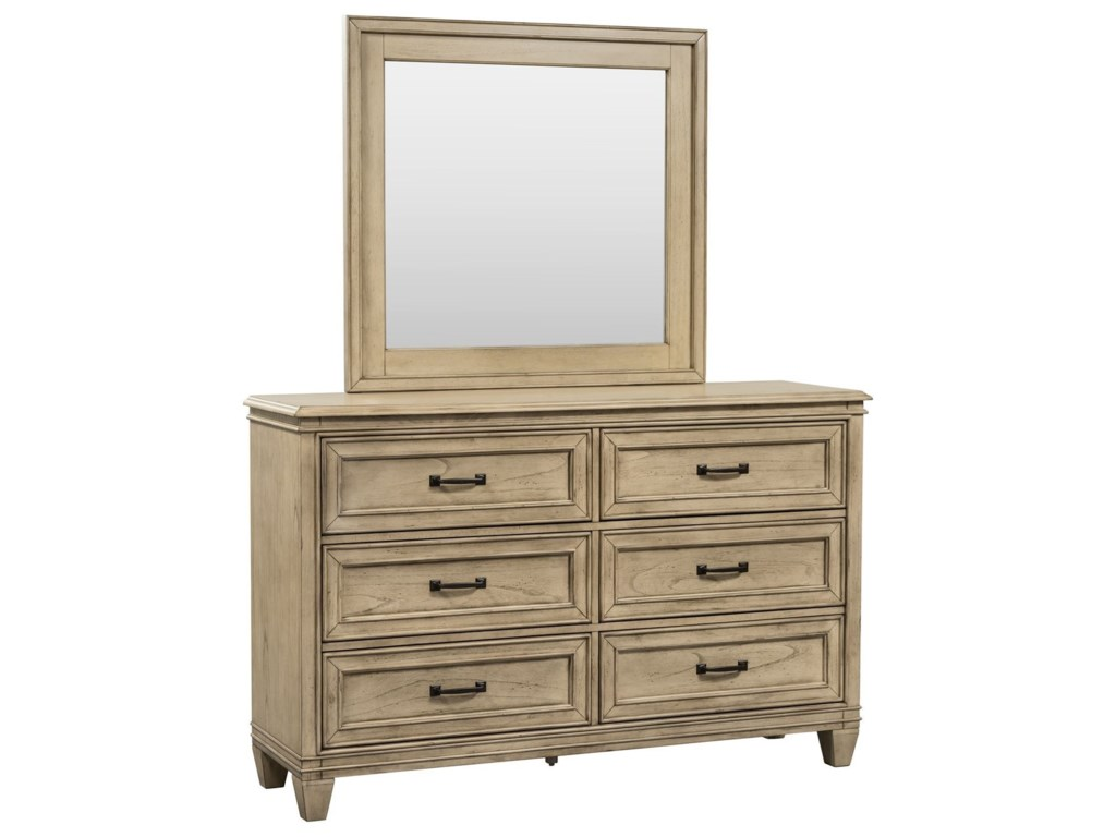 Liberty Furniture 573Dresser & Mirror