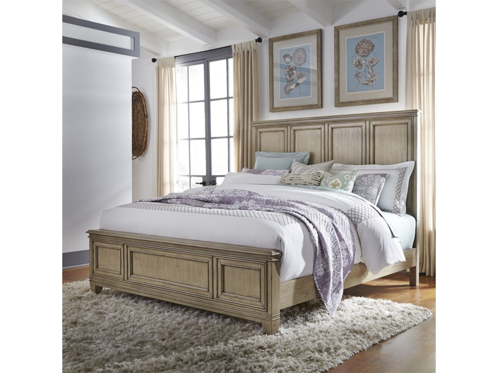 Liberty Furniture 573King Panel Bed