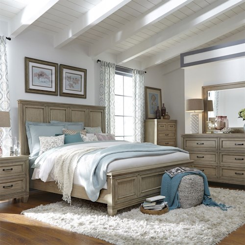Liberty Furniture 573 King Bedroom Group