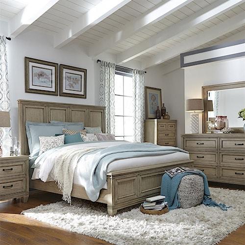 Liberty Furniture 573 Queen Bedroom Group