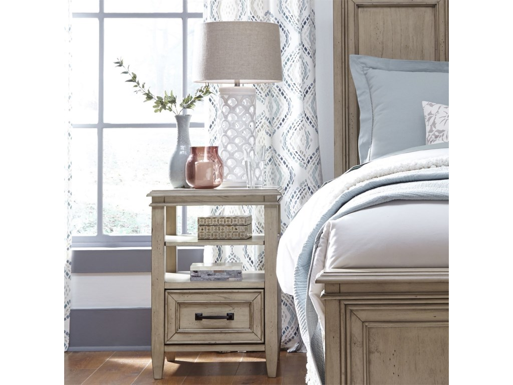 Liberty Furniture 573Open Night Stand