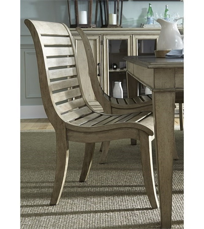 Liberty Furniture 573Slat Back Side Chair