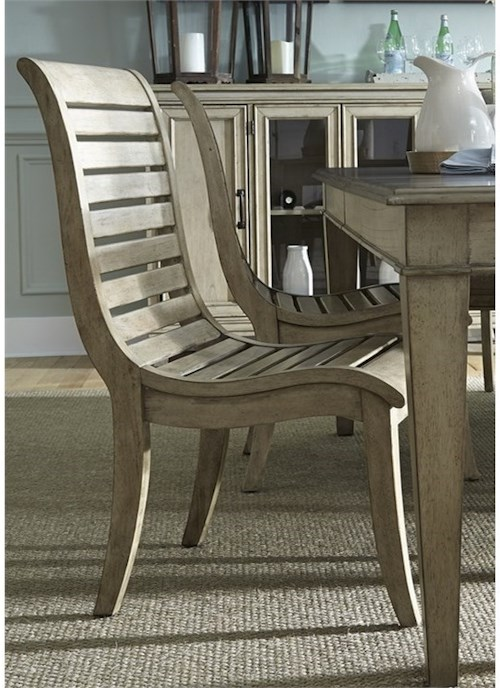 Liberty Furniture 573 Slat Back Side Chair