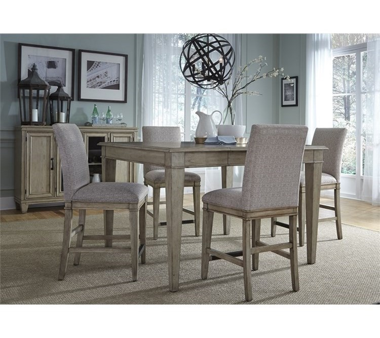 Liberty Furniture 5735 Piece Gathering Table Set