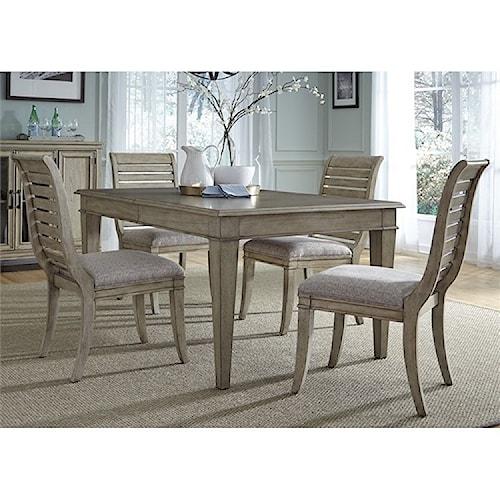 Liberty Furniture 573 5 Piece Rectangular Table Set