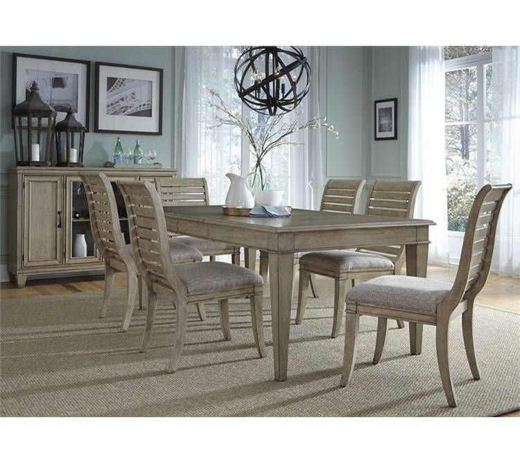 Liberty Furniture 5737 Piece Rectangular Table Set