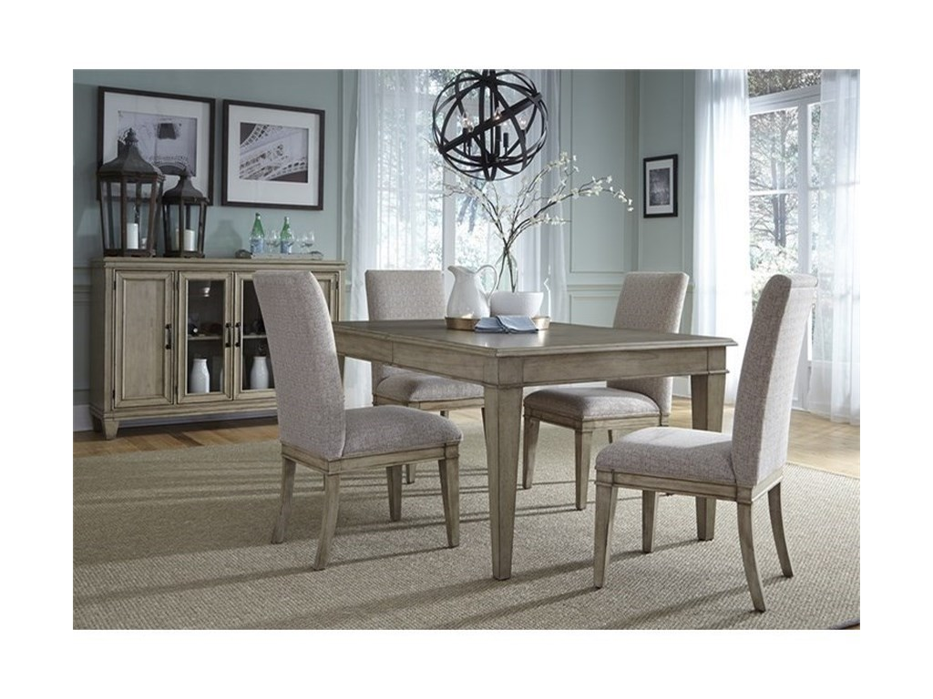 Liberty Furniture 5735 Piece Rectangular Table Set
