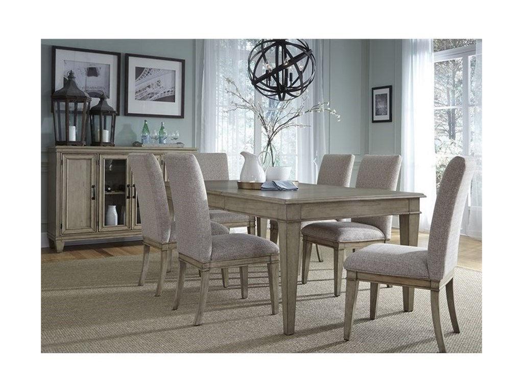 Vendor 5349 5737 Piece Rectangular Table Set