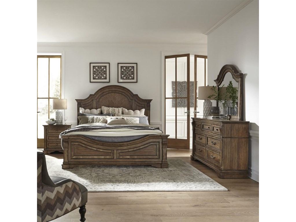 Liberty Furniture Haven HallArched Mirror