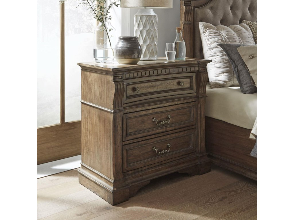 Liberty Furniture Haven HallBedside Chest